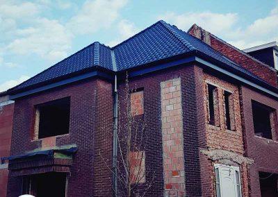 Hellend en plat dak Hasselt