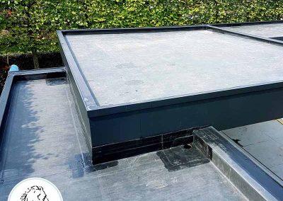 Plat dak Bocholt