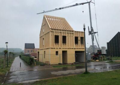 Houtskelet te Turnhout