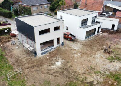 Plat dak Holsbeek